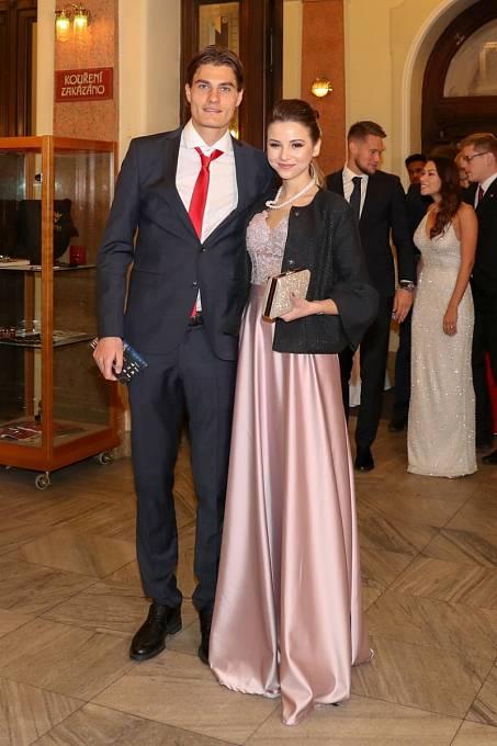 Patrik Schick s manželkou
