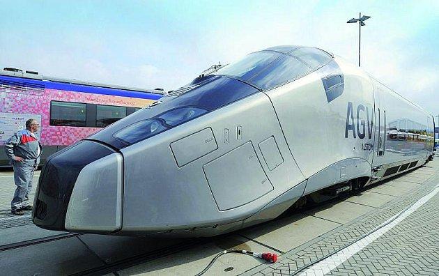 AGV pro změnu vypadá jako raketoplán.