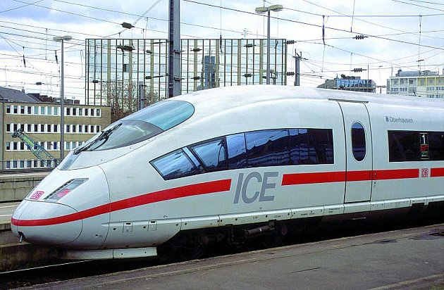 Německá souprava ICE