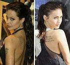 Ačkoli mezi Angelinou Jolie a Megan Fox je věkový rozdíl jedenáct let a několik dětí, jsou okamžiky, kdy jsou k nerozeznání.