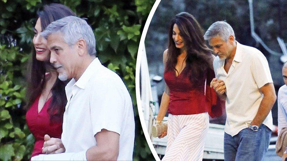 Clooney už není plný síly. Je z něj vyčerpaný muž v letech.