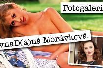 Fotomontáž půvabné Daniely Morávkové