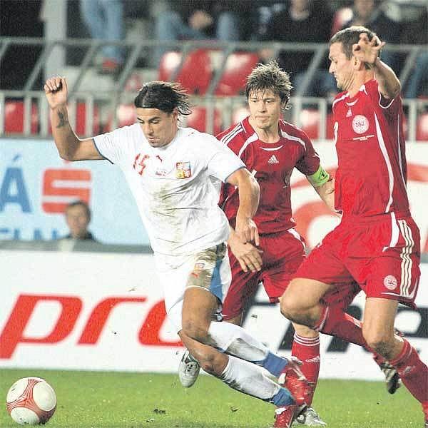 Předloni se Milan Baroš v posledním vzájemném duelu s Dánskem postaral o konečnou remízu.