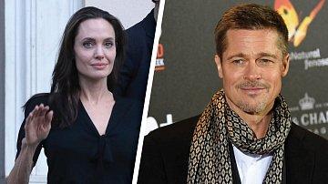 Angelina se k Bradovi chová, jako by spolu nikdy ani nežili...