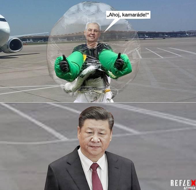 Návštěva prezidenta v Číně?
