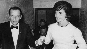 Frank Sinatra a Jackie Kennedyová