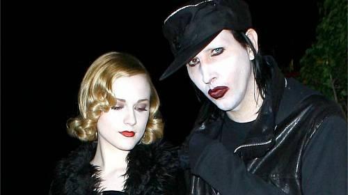 Marilyn Manson a Evan Rachel Wood