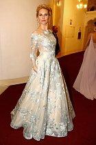 Simona Krainová vždy vypadá nádherně.