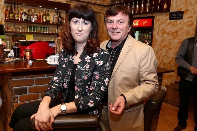 Pavel Trávníček a manželka Monika