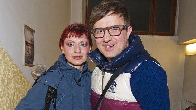 Petr Kotvald se svou ženou Hankou