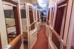 Tohle nejsou kupé v rychlíku, ale kabinky v Airbusu A380...
