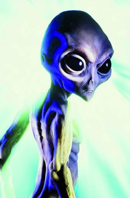 Takhle si představujeme mimozemšťany. Ata se tomu nápadně podobá.