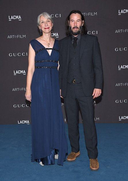 Alexandra Grant a Keanu Reeves