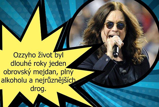 Zážitek Ozzyho Osbournea se smrtí. Ztoho se ježí chloupky.