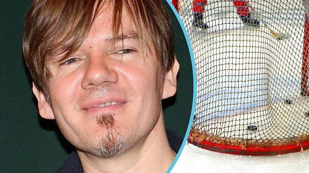 Michal Hrůza se měl vložit do potyčky bývalých hokejových spoluhráčů.