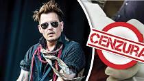 Herec Johnny Depp nezvládá svou žárlivost.