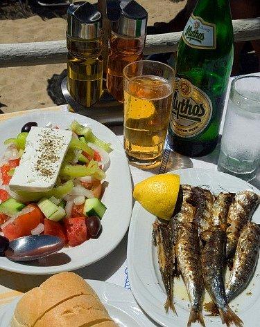 Řecká kuchyně je vyhlášená.
