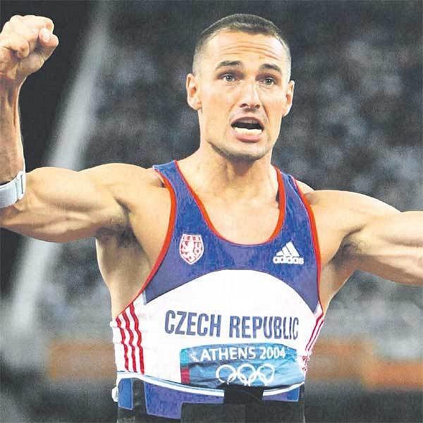 Desetibojař Roman Šebrle patří k tradičním lídrům českého olympijského týmu.