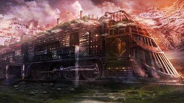 Vkanadské provincii Saskatchewan prý lze spatřit děsivé železniční monstrum.