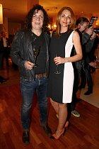 Richard Genzer s přítelkyní
