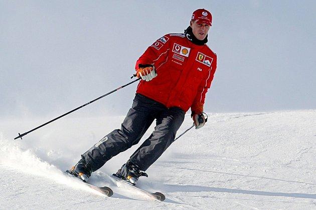 Michael Schumacher miloval lyžování.