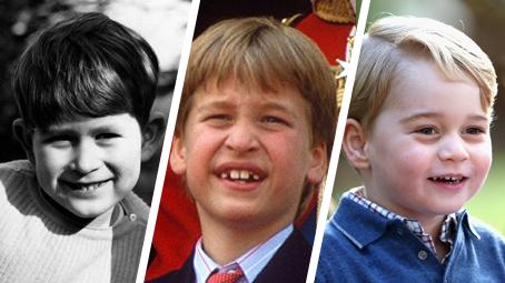 Tři generace princů. Charles, William a George jako malí kluci jsou k nerozeznání
