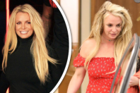 Z Britney Spears je opět troska