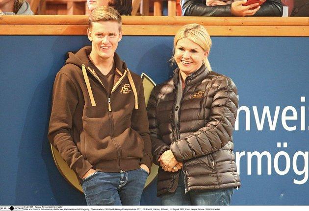 Manželka Schumachera má se synem hezký vztah.