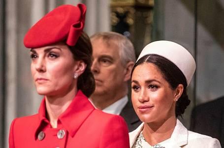 Kate Middleton a Meghan Markle