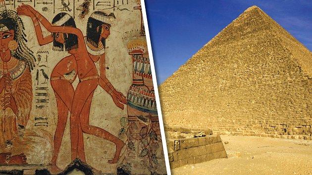 Materiál na stavbu Cheopsovy pyramidy se sháněl různě.