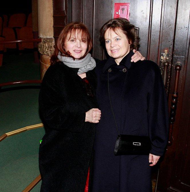 Libuška Šafránková a její o pět let mladší sestra Miroslava měly k sobě vždy blízko.