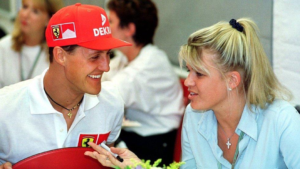 Michael Schumacher manželka Corine