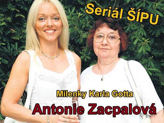 Tanečnici Antonii Zacpalové zbyla živá vzpomínka na jedinou noc s Karlem Gottem – jejich dcera Dominika.