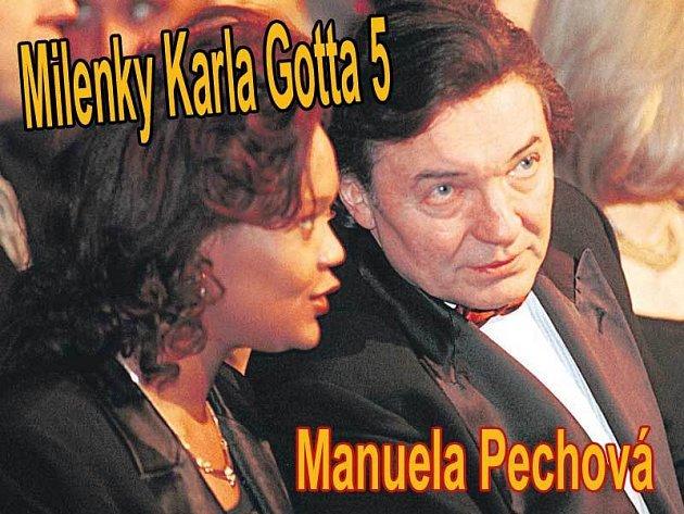 Manuela Pechová a Karel Gott