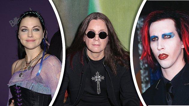 Amy Lee, Ozzy Osbourne a Marylin Manson