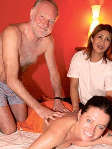 Luděk Sobota smanželkou na masáži