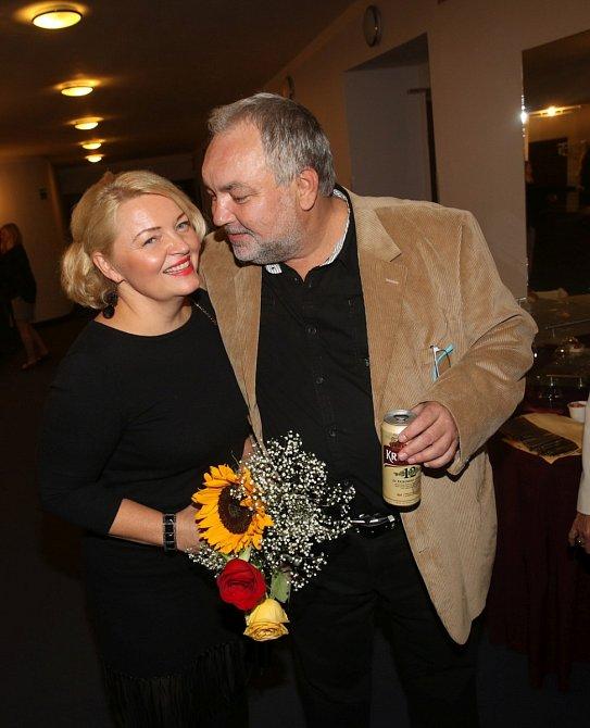 Václav Svoboda se svojí ženou tvoří velmi sympatický pár.