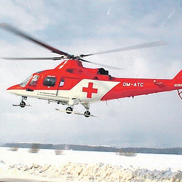 Po alpinistovi pátral vrtulník a desítky záchranářů.