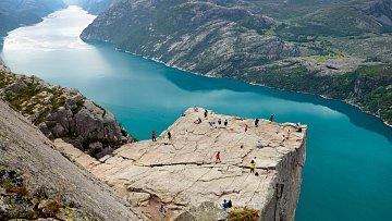 Preikestolen, Norsko