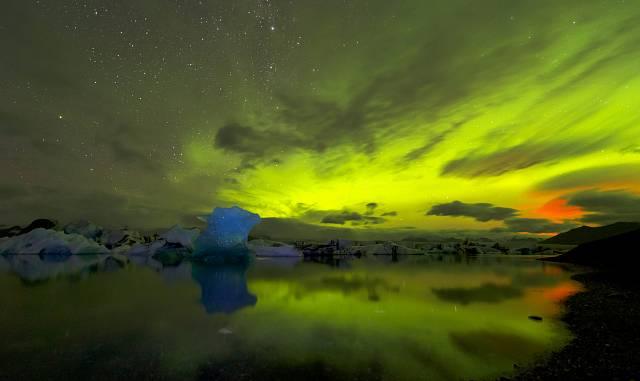 Ledovcová laguna Jökulsárlón