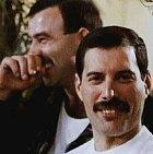 Freddie Mercury a Jim Hutton