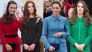 Krásná Kate v šatech, které nejspíš prošly cenzurou...
