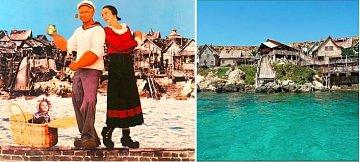 Pepkova vesnička z filmu Pepek námořník, v hlavní roli s Robinem Williamsem, se nachází na Maltě. Celý plac byl opuštěn, Malta si ho přivlastnila a dodnes slouží jako turistická atrakce.