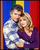 Patrick Duffy a Suzanne Somers, jak si je pamatujeme - jako Frank Lambert a Carole Fosterová.