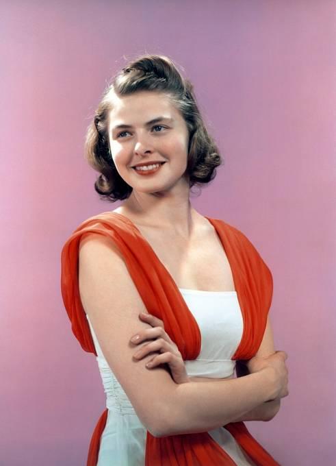 Ve 40. letech byla na vrcholu krásy islávy.