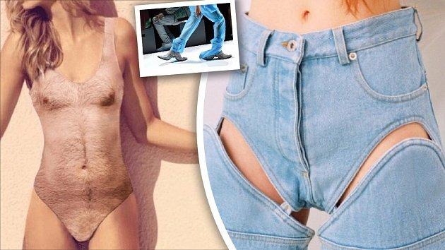 Někdy módní návrháři popustí uzdu fantazie snad až příliš...