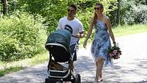 Tomáš Plekanec a Lucie Šafářová měli krásnou svatbu, místo konání se jim podařilo utajit