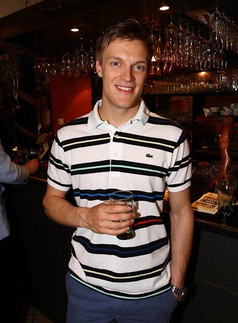 Na party se objevil ikrasobruslař Tomáš Verner.