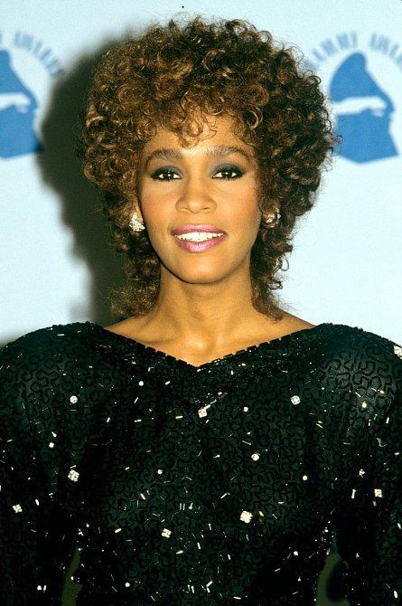 Whitney Houston na předávání cen Grammy