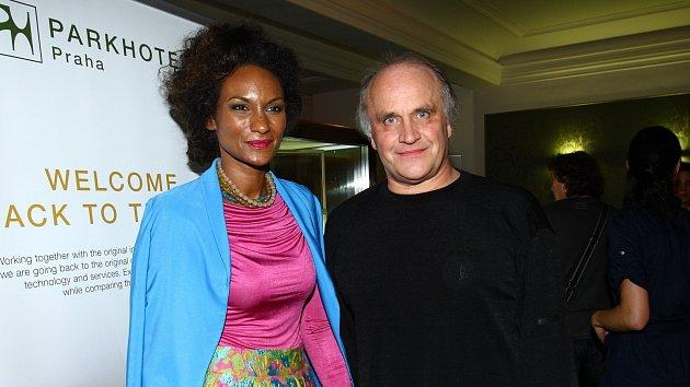 Lejla Abbasová a Michael Kocáb